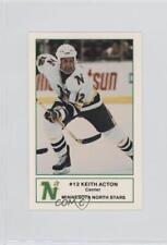 1984-85 Minnesota North Stars 7-Eleven #6 Keith Acton Hockey Card