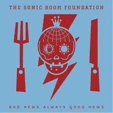 "SONIC BOOM FOUNDATION ""BAD NEWS ALWAYS GOOD NEWS"" - CD - DIGI PACK"