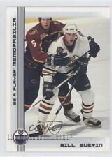 2000-01 In the Game Be A Player Memorabilia #27 Bill Guerin Edmonton Oilers Card