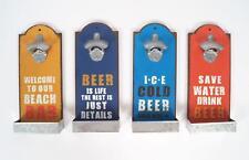 Abrebotellas de pared Recipiente colector 20003 Abridor cerveza 32cm