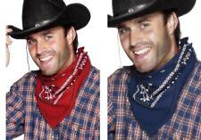 Cowboy Zubehör Halstuch rot mit weißen Druck Western Countrystyle Accessoire