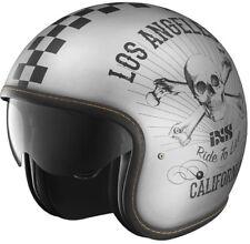 IXS HX 78 California Plata SW Mate Motocicleta jethelm con Parasol CLASSIC