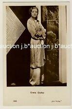 Greta Garbo * VINTAGE 30s Real Photo PC Iris casa editrice