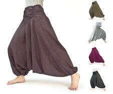 Haremhose de algodón, unisex, pluderhose, Pump pantalones, pantalones sarouel