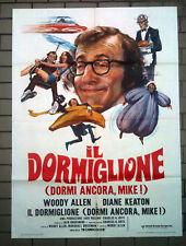 IL DORMIGLIONE poster manifesto Allen Keaton 1973