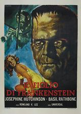 Son of Frankenstein (1939) Bela Lugosi Boris Karloff Horror movie poster 5