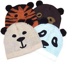 Niño Chicas Adolescentes Animal Oso Panda Sombrero Talla Única Cálido