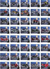 Mauspad mit Motorrad Motiv: Honda Modelle Mousepad Handauflage Bike Biker