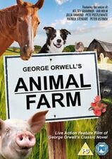 Animal Farm DVD (2017) Peter Postlethwaite, Stephenson (DIR) cert PG ***NEW***