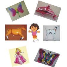 WHOLESALE BALLOONS -  Set of 20 Girls Supershape Foil Balloons