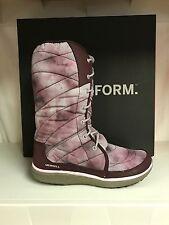 Merrell Pechora Peak Women's Winter Mid Calf Boots Lace Up Booties