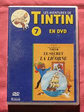 LES AVENTURES DE TINTIN - LE SECRET DE LA LICORNE ATLAS n°7 - DVD