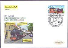 BRD 2011: Bäderbahn Molli! Post-FDC der Nr. 2872 mit Berliner Stempel! 1A! 1809