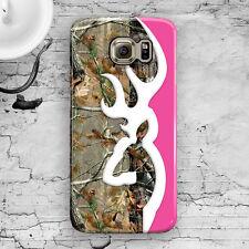 Deer Head Camo Pink Cute Galaxy S3,S4,S5,S6,S6 Edge,S6 Edge+, Note 3,4,5 Case