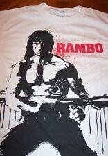 VINTAGE STYLE RAMBO 2 T-Shirt SMALL NEW