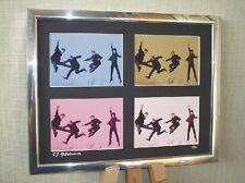 THE BEATLES LTD EDITION SIGNED POP ART CANVAS