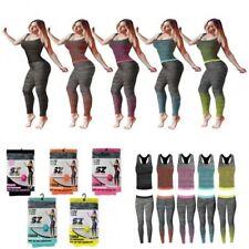 Ladies/Girls Vest & Legging Gym Wear Set Fitness Wear in One Size 8-14