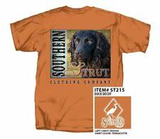Southern Boykin Spaniel Southern Strut Hunting Cotton Short Sleeve T Shirt