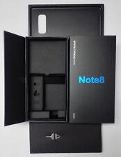 Caja Vacía sólo embalaje por menor con envoltura de sello de película de fábrica para 8 SAMSUNG NOTE
