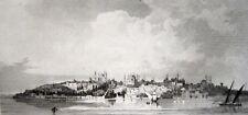 ISTANBUL ANSICHT MIT TOPKAPI-PALAST 1840 GOLDENES HORN Topkapı Sarayı