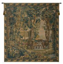 Villa Garden Classic Belgian Woven Decor Wall Hanging Tapestry