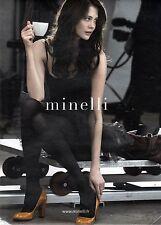 PUBLICITE ADVERTISING 2010  MINELLI la vraie chaussure Italienne