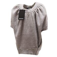 7092P Felpa grigia bimba DSQUARED2  maglie t-shirts kids