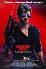 63170 COBRA 1986 Stallone Rocky Rambo Wall Print Poster CA