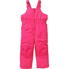 Healthtex Baby Toddler Girls' Surper Pink Ski/Snowboard Bib Pants Size 3T