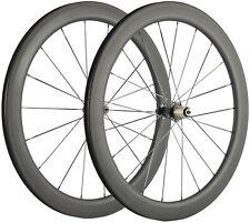 700C Bicycle Carbon Wheels 55mm Depth 25mm U Shape Carbon Wheelset Cycle Touring