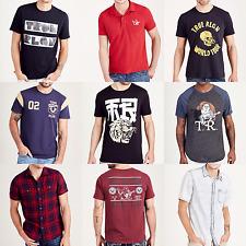 New True Religion Brand Jeans Graphic Men's T-shirt Polo Size:S M L XL XXL XXXL