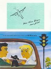 AUTO RADIO ZIKADE 2 PROSPEKTE WANDEL & GOLTERMANN 1949