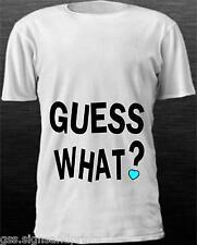 Enfants T-Shirt Guess What / Big Sister - Qualité Premium - Texte à L'avant &