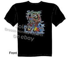 Kustom Rat Rod T-shirt, Tattoo Tee Shirts Palm Aid Tee Sz M L XL 2XL 3XL Quality