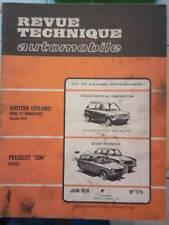 PEUGEOT 304 diesel BRITISH LEYLAND - Revue Technique Automobile