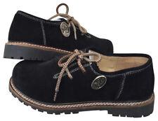 Trachtenschuhe Herren Schuhe Trachten Schuhe Haferlschuhe echtleder Schwarz Neu