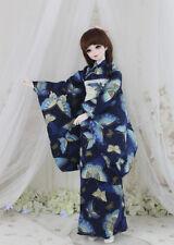 Japanese Kimono Yukata Handmade Doll Costume BJD Clothing Cosplay Sakura Dress