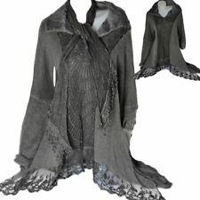 3 piezas Invierno Combi Mohair Encaje Vestido Túnica Jersey Bufanda 42 44 46 L