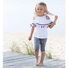 Mud Pie E8 Baby Girl Sail Away Tassel Tunic & Legging Set 1112383 Choose Size