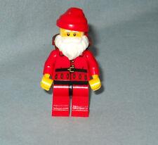NEW LEGO FATHER CHRISTMAS, SANTA CLAUS MINIFIG & BAG