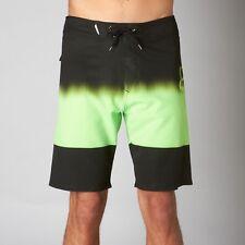 NUOVO W/ETICHETTE VOLPE testa RACING DYNOMITE Pantaloncini da surf ACIDO Verde
