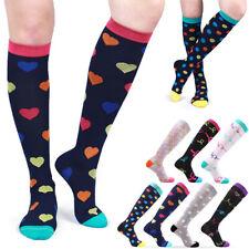 Compression Stretch Socks Long Thigh High Socks Women Elastic Nursing Calf Socks