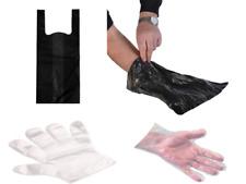 DOGGY BAGS -  Pooper Scooper Bag Dog Cat Poo Waste Toilet Poop and Hygiene Glove