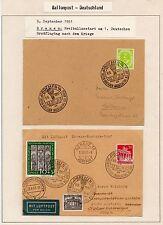 1951 GERMANIA BALLONPOST B/6289