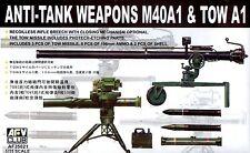 AFV Club 1/35 AF35021 Anti-Tank Weapons M40A1 & Tow A1