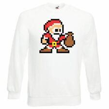 Unisex 8-Bit Santa Retro Gaming Festive Christmas Jumper