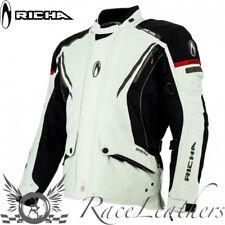 RICHA CYCLONE GTX grigio GORE-TEX MOTO IMPERMEABILE MOTOCICLETTA Giacca Turismo