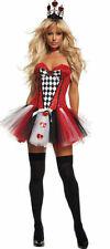 Starline S2080 Deluxe Women Feisty Queen Of Heart Fancy Dress Costume S or M