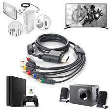 Xbox 360 AV Component Composite Cable HDTV Video&RCA Stereo Cable w/ SPDIF Audio
