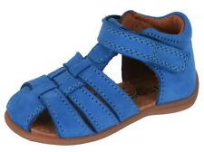 Bisgaard geschlossene Sandalen 71206 Leder Lauflernschuhe blau  Gr. 19-24 Neu